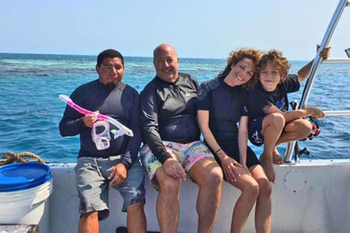 Andrew Zimmerman visits Ambergris Caye