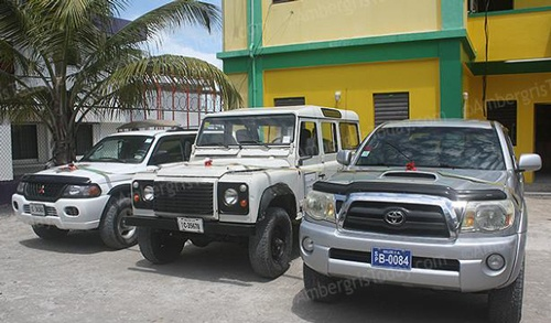 Tourism Minister Donates Vehicles to Police