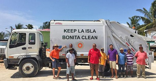 SPTC Adds New Trash Compactor Truck to Fleet
