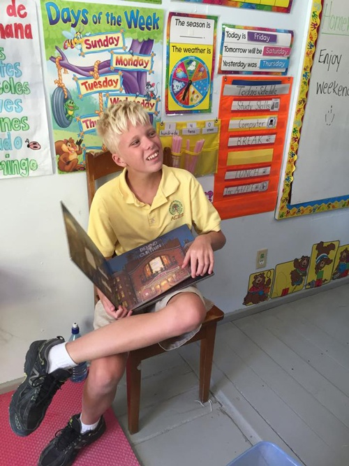 Newly Formed Ambergris Caye Rotary Club Sponsors Book Drive