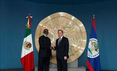 Mexico and Belize Sign Agreements